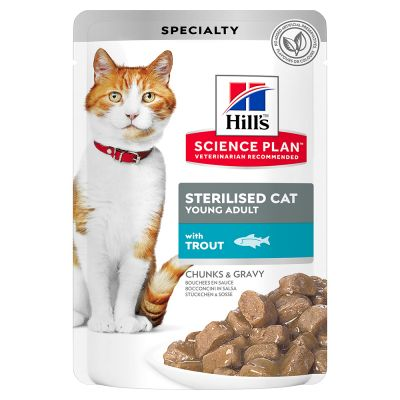 Hill's Science Plan Sterilised Cat Young Adult