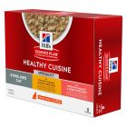 Hill's Science Plan Young Adult Sterilised Healthy Cuisine Huhn & Lachs