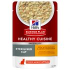 Hill's Science Plan Young Adult Sterilised Healthy Cuisine poulet pour chat