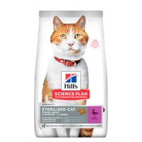 Hill's Science Plan Young Adult Sterilised met Eend Kattenvoer