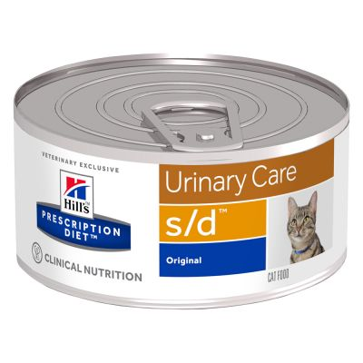 Hill's s/d Prescription Diet Urinary Care latas para gatos