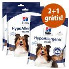 Hill's snacks em promoção: 2 + 1 grátis!