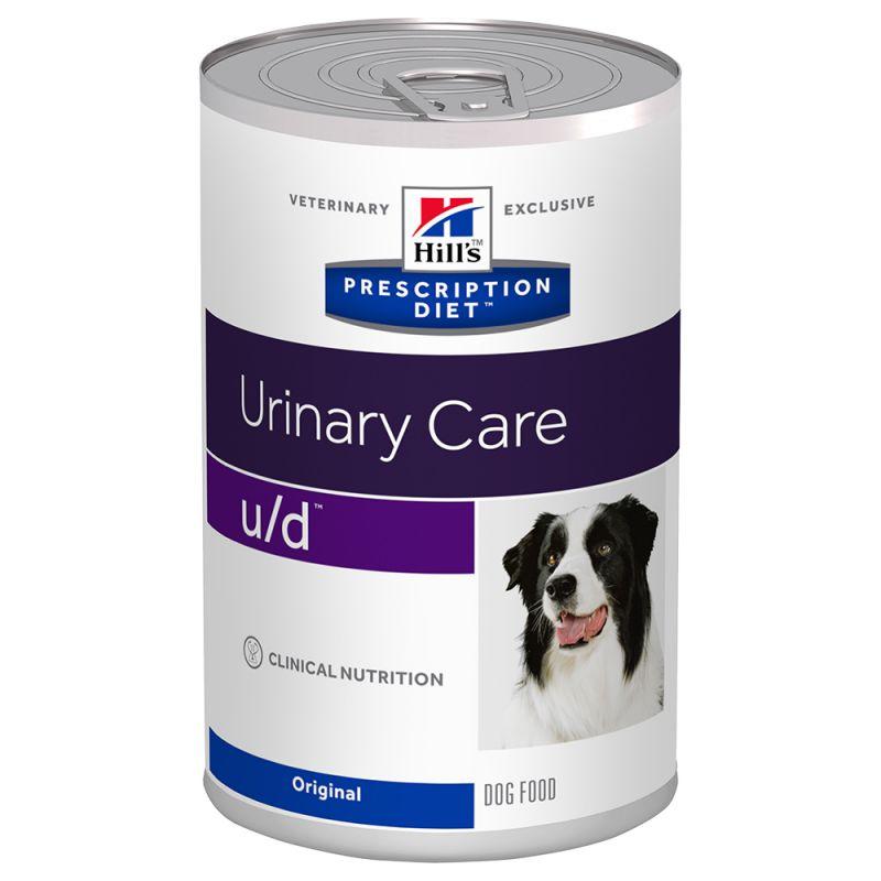 Hill's u/d Prescription Diet Urinary Care latas para perros