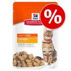 Hill's 12 x 85 g bolsitas para gatos ¡a precio especial!