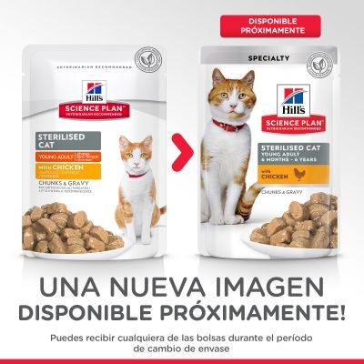 Hill's Young Adult Sterilised para gatos