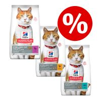 Hill's Young Adult Sterilised pienso para gatos - Pack mixto