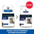 Hill's z/d Food Sensitivities Original Prescription Diet Feline