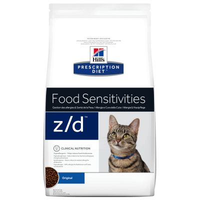 Hill's z/d Prescription Diet Feline Food Sensitivities pienso para gatos