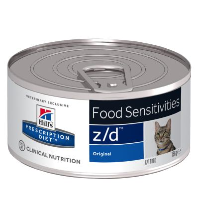 Hill's z/d Prescription Diet Food Sensitivities latas para gatos