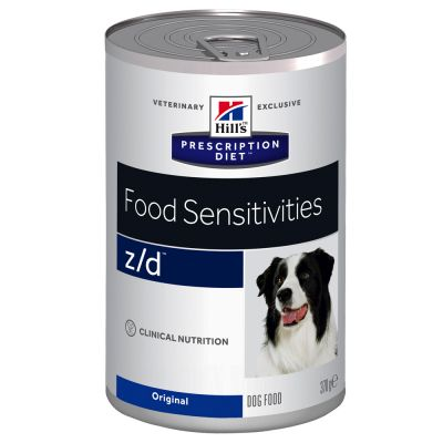 Hill's z/d Prescription Diet Food Sensitivities latas para perros