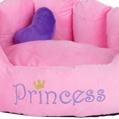 Hondenmand Princess Roze / Paars