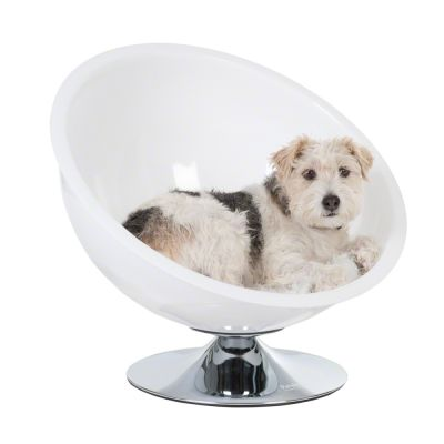 Hondenstoel Retro Pet Nest Wit