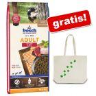 Hrană uscată Bosch +  Gratis: Sacoșă bumbac cu logo zooplus și lăbuțe