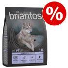 Hrana lunii: 1 kg / 3 kg Briantos hrană uscată la preț special