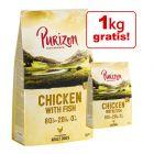 Hrana lunii: 12 kg + 1 kg gratis! Purizon Hrană uscată pentru câini