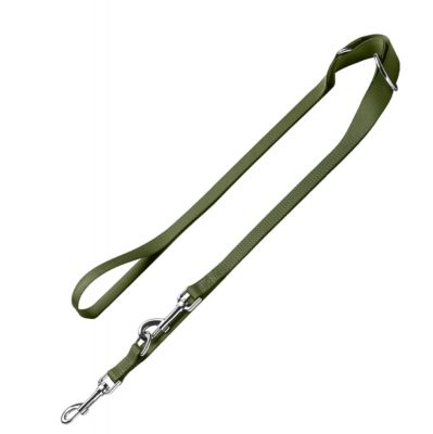 HUNTER London Adjustable Lead – Olive Green