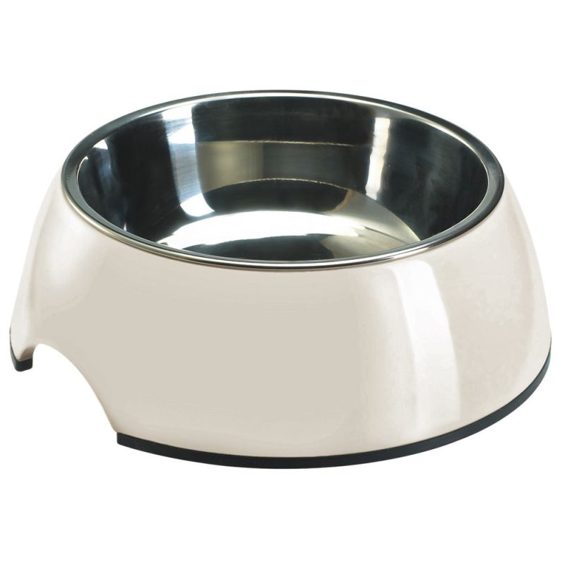 HUNTER Melamine Dog Bowl - White