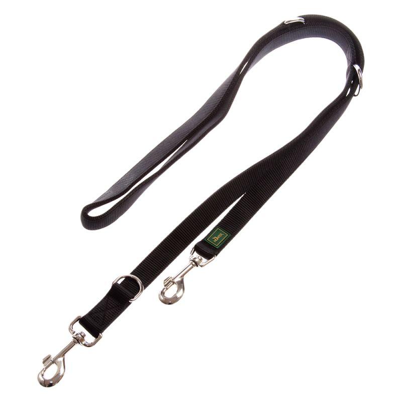 Hunter Nylon Dog Lead - Black