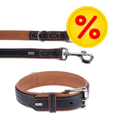 Hunter Set: Halsband Canadian + Riem Canadian