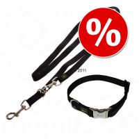 Hunter Set: Halsband Vario Basic + Riem