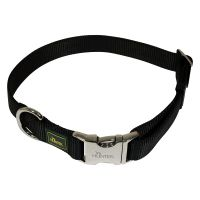 Hunter Vario Basic Alu-Strong Dog Collar - Black