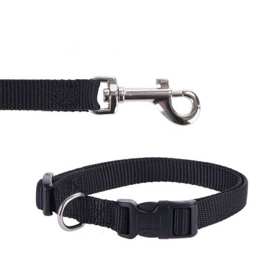 Hunter Vario Basic Ecco Sport Dog Collar - Black
