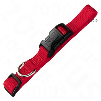 Hunter Vario Basic Ecco Sport Dog Collar - Red