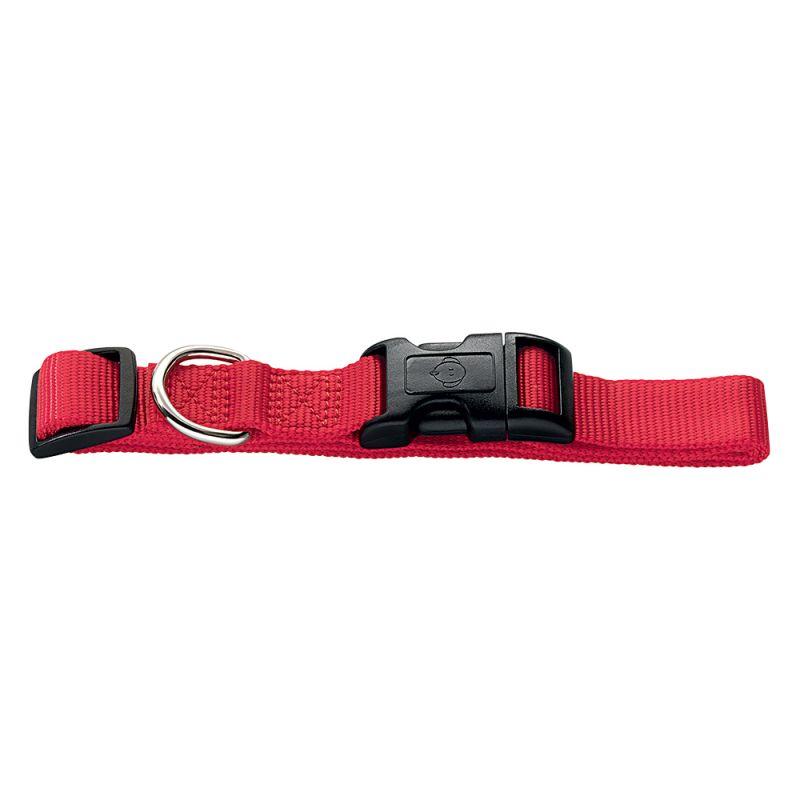 Hunter Vario Basic Ecco Sport Dog Collar - Red
