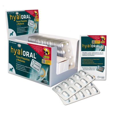 Hyaloral for Small & Medium Breeds