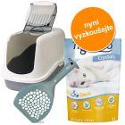 Hygienický set: Toaleta, kočkolit, lopatka za výhodnou cenu!