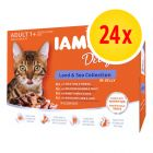IAMS Delights Adult Land & Sea 24 x 85 g