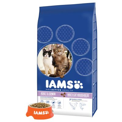 Iams Cat Adult Multi-Cat Household