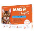 IAMS Delights Adult en gelée 12 x 85 g pour chat