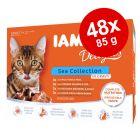 IAMS Delights Adult σε Σάλτσα 48 x 85 g