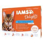 IAMS Delights Collectie in Saus Kattenvoer 12 x 85 g