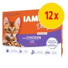 IAMS Delights Kitten i sås 12 x 85 g