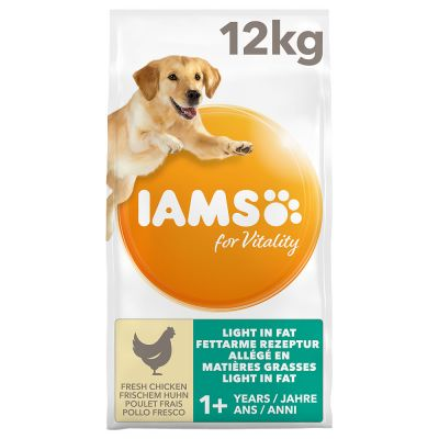 IAMS for Vitality Adult Dog Light in Fat - Chicken