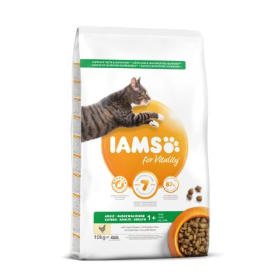 IAMS for Vitality Adult Fresh Chicken Dry Cat Food