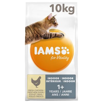 IAMS for Vitality Adult Indoor con pollo fresco