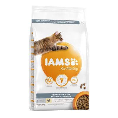 IAMS for Vitality Adult Indoor poulet pour chat