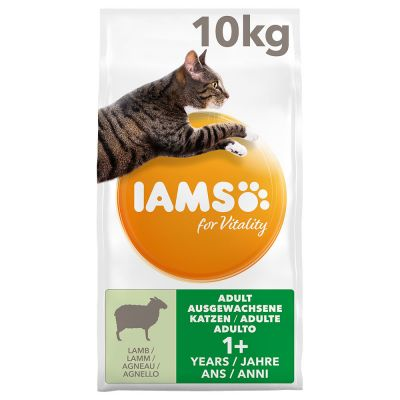 IAMS for Vitality Adult Lamb Dry Cat Food