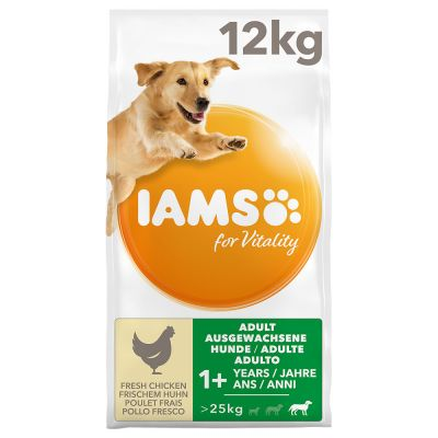 IAMS for Vitality Adult Large poulet