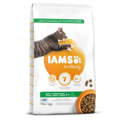 IAMS for Vitality Adult Ocean Fish Dry Cat Food
