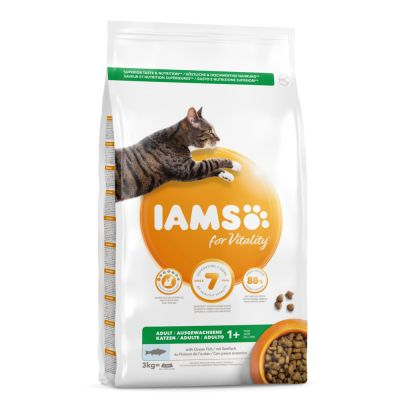 IAMS for Vitality Cat Adulto con Pesce oceanico