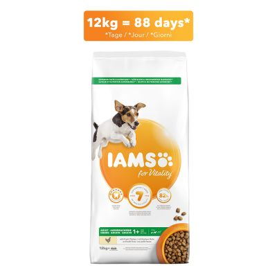 IAMS for Vitality Dog Adult Small Medium Kip Hondenvoer