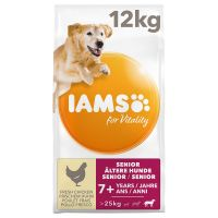 IAMS for Vitality Dog Senior & Mature Large Kip hondenvoer