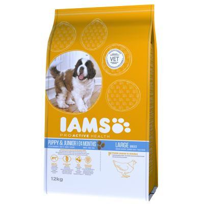 IAMS for Vitality Dry Dog Food Economy Packs 2 x 12kg