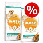 IAMS for Vitality Dry Dog Food Economy Packs 2 x 12kg