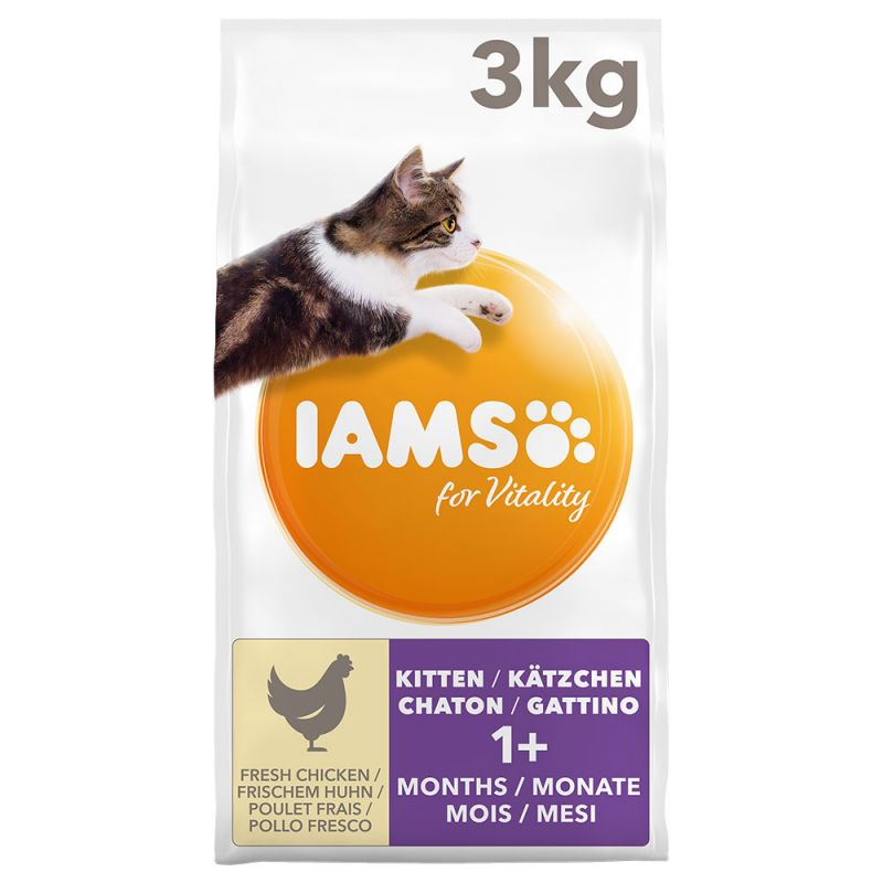 IAMS for Vitality Gattino con Pollo fresco