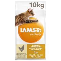 IAMS for Vitality Hairball Adult poulet pour chat